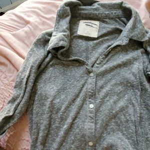 Grey speckled long sleeve